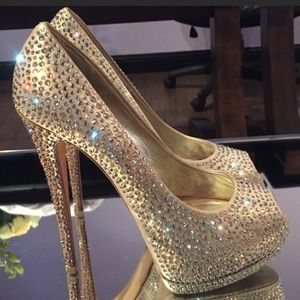 Giuseppe Zanotti Sharon Swarovski Crystal Heels